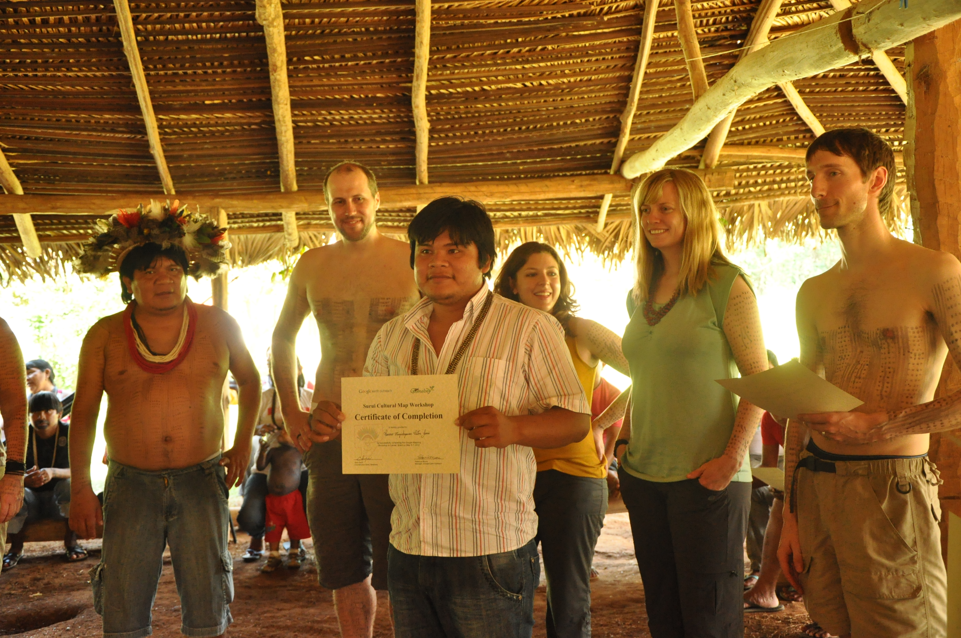 (English) Indigenous Brazilian group certified to trade carbon credits
