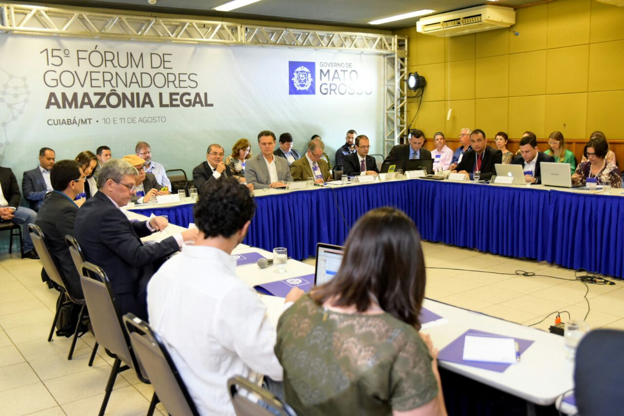 Forum gathers representatives of the Legal Amazon in Cuiabá