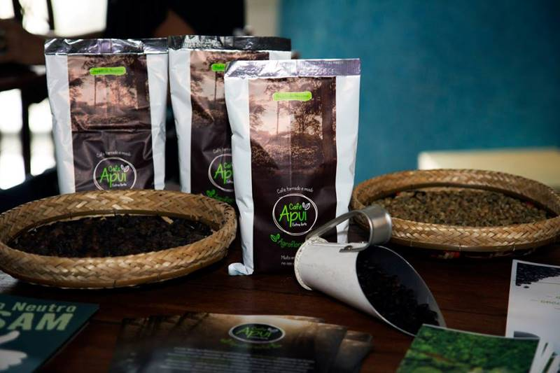 Idesam takes Apuí Agroforestry Coffee to sustainable businesses fair